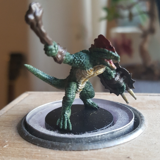 How the Lizardfolk looked after 'inking'.