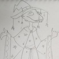 Eddie Izzard the Wizard